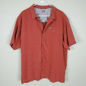 Columbia Men Omni Shield Shirt Button Down Sz XL